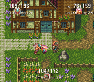 Screenshot Thumbnail / Media File 1 for Seiken Densetsu 3 (Japan) [En by LNF+Neill Corlett+SoM2Freak v1.01] [Hack by Parlance v1.0] (3 Player Edition)